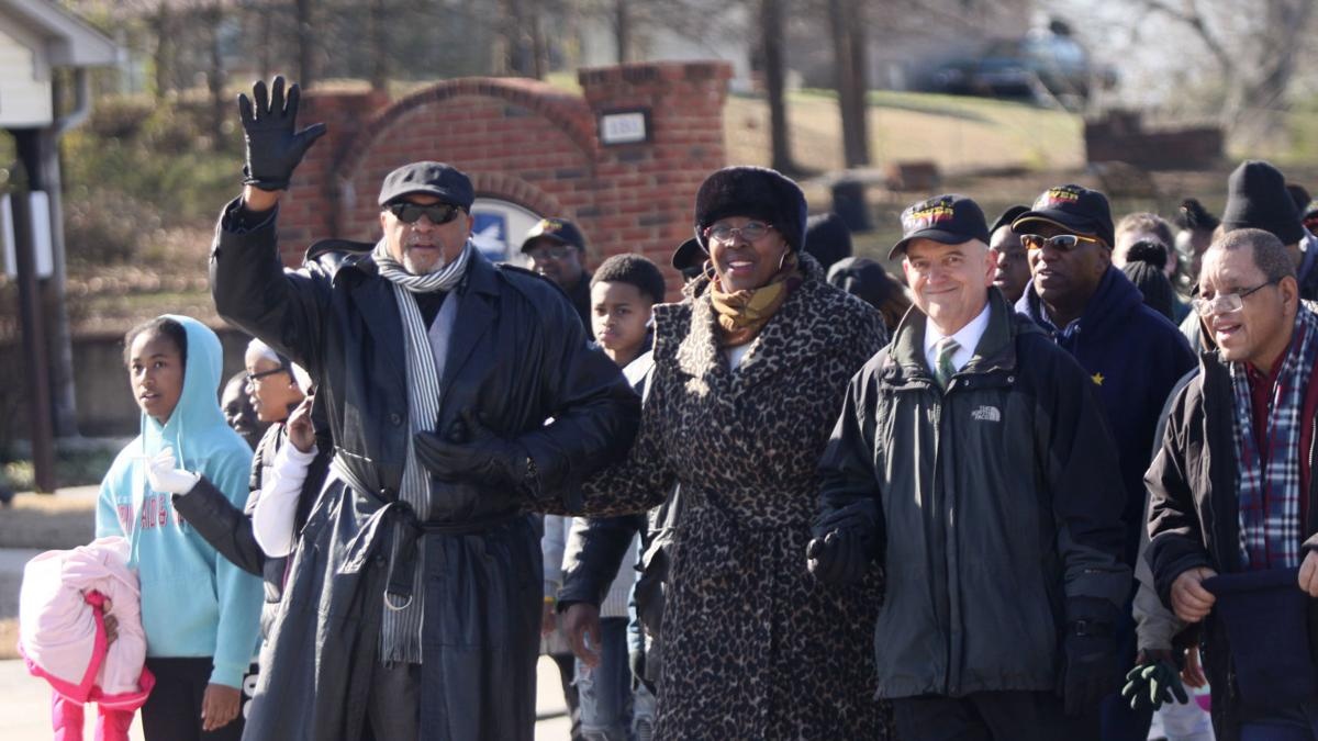 PHOTOS: Annual MLK Day march, ceremony held in Winder
