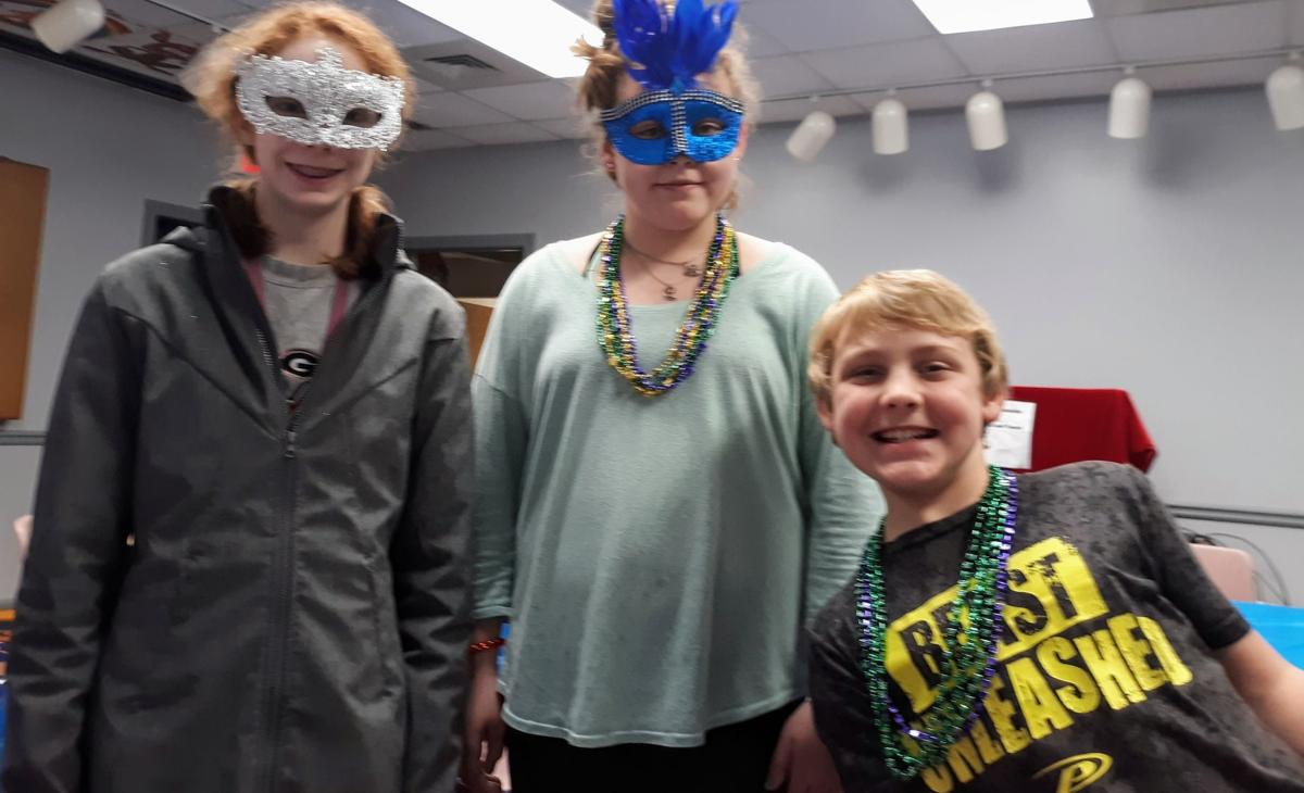 Celebrating Mardi Gras at the library