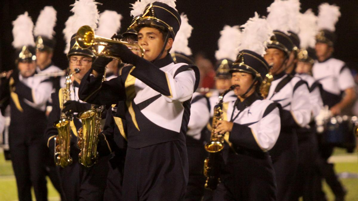 PHOTOS: Apalachee High School band performs halftime show
