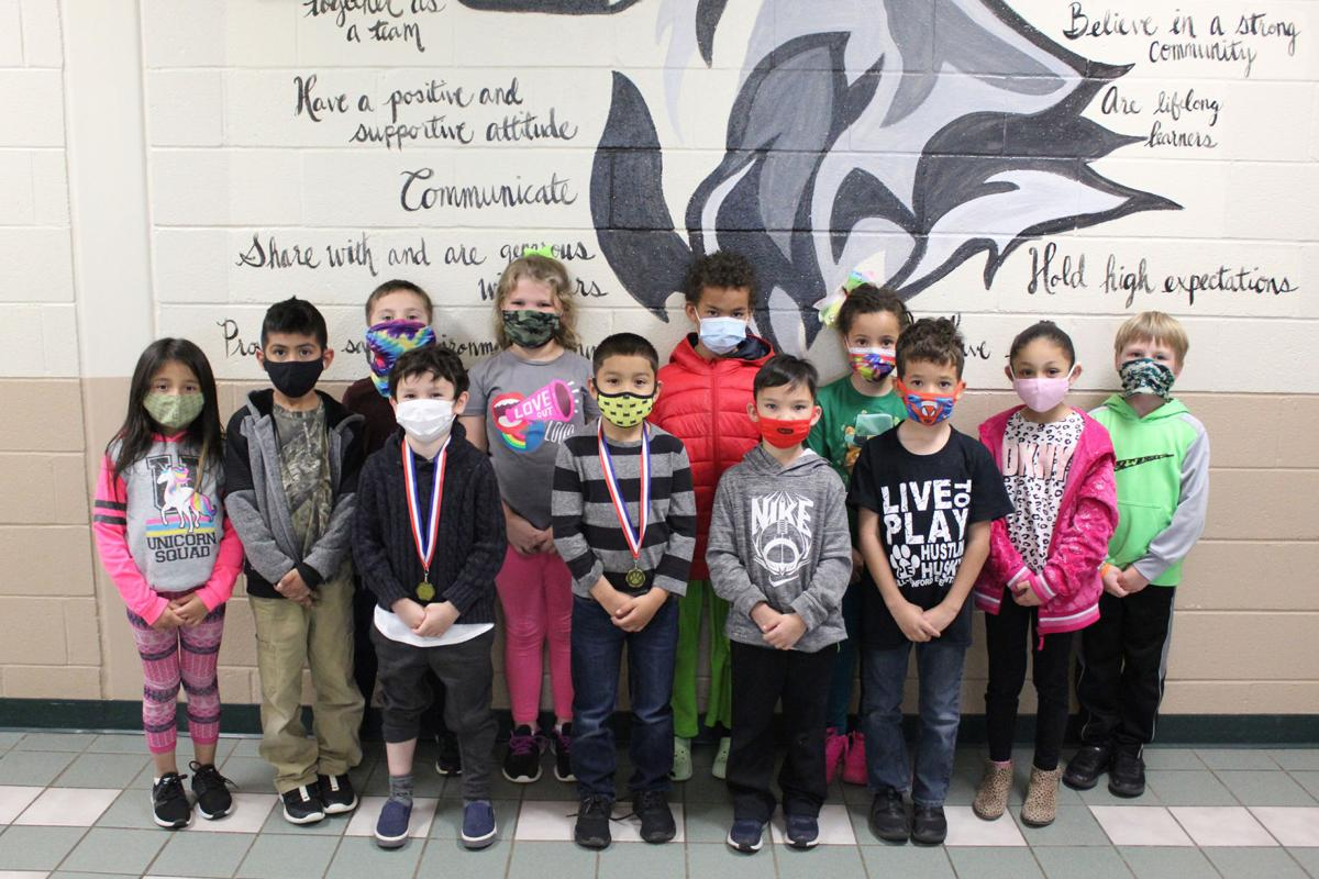 Hull-Sanford first graders honored