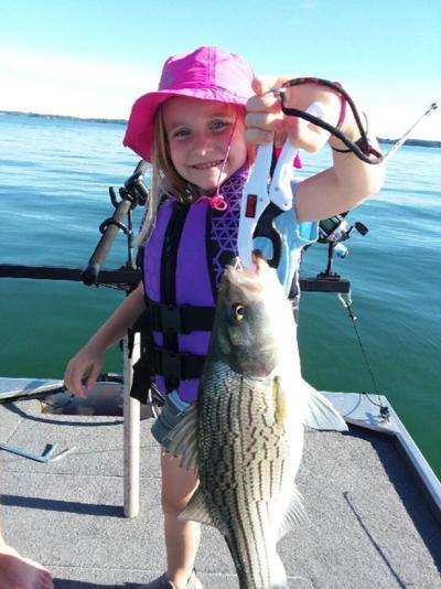 Ella's big fish photo