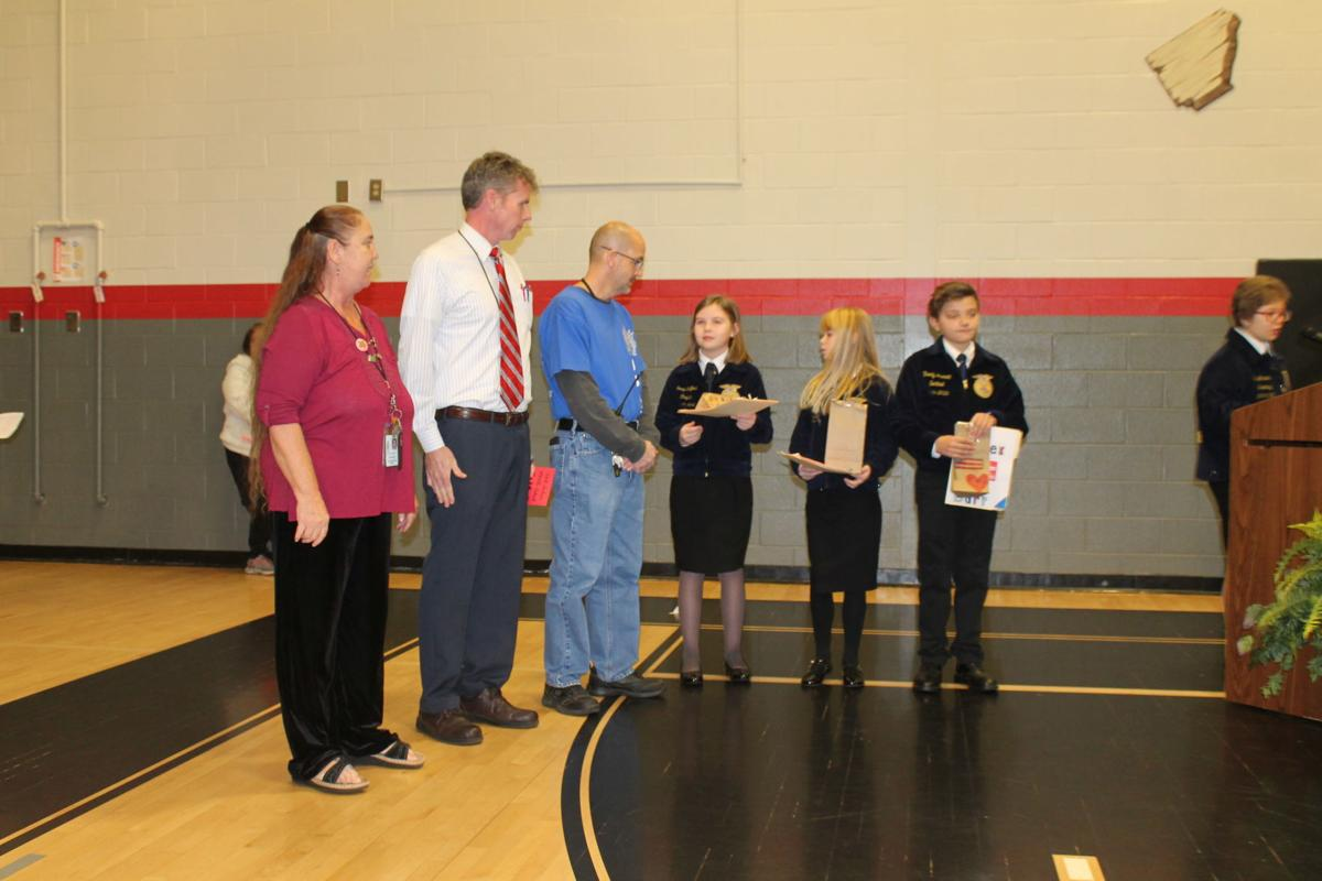 Staff members honored for their service