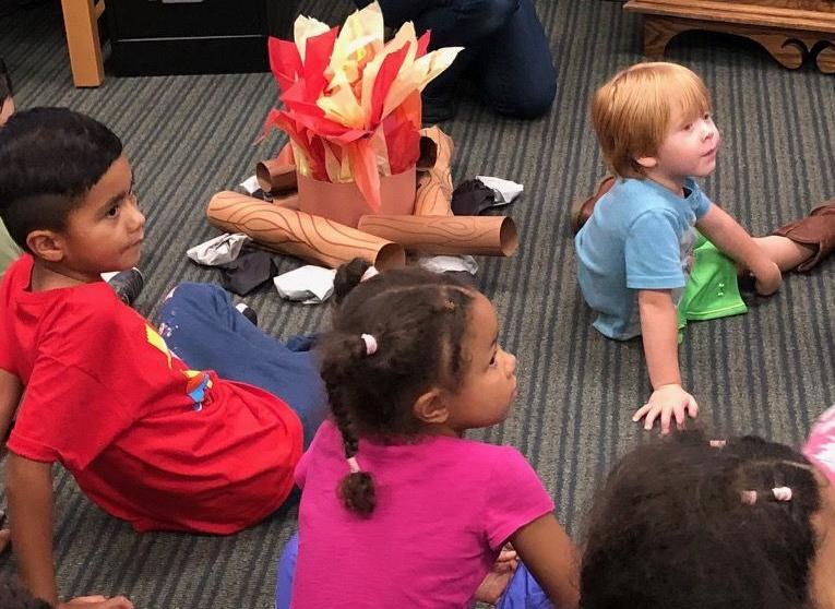SPOOKY STORY TIME AT COMMERCE LIBRARY