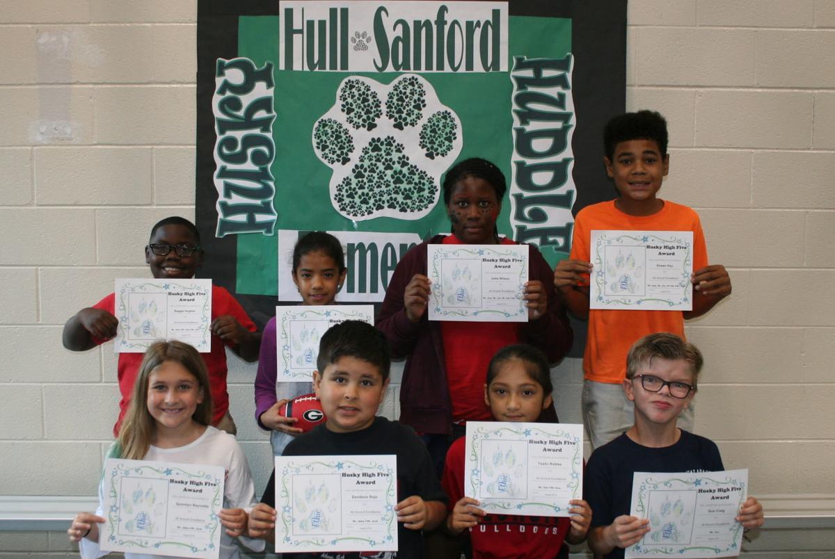 'Husky High Five' winners (3-5)