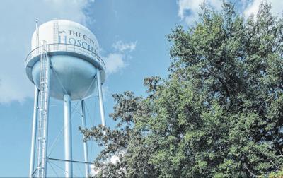Hoschton water tower