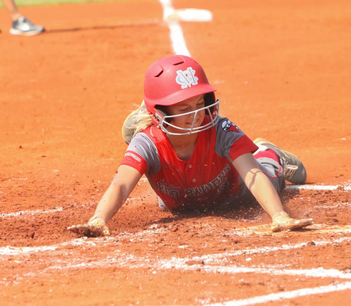 Brooke Hooper slides