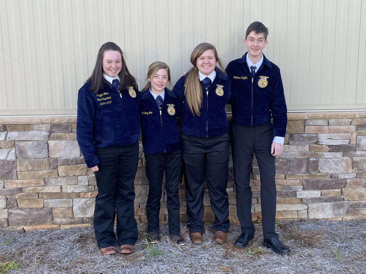 MCMS FFA livestock judging team wins area, state contests