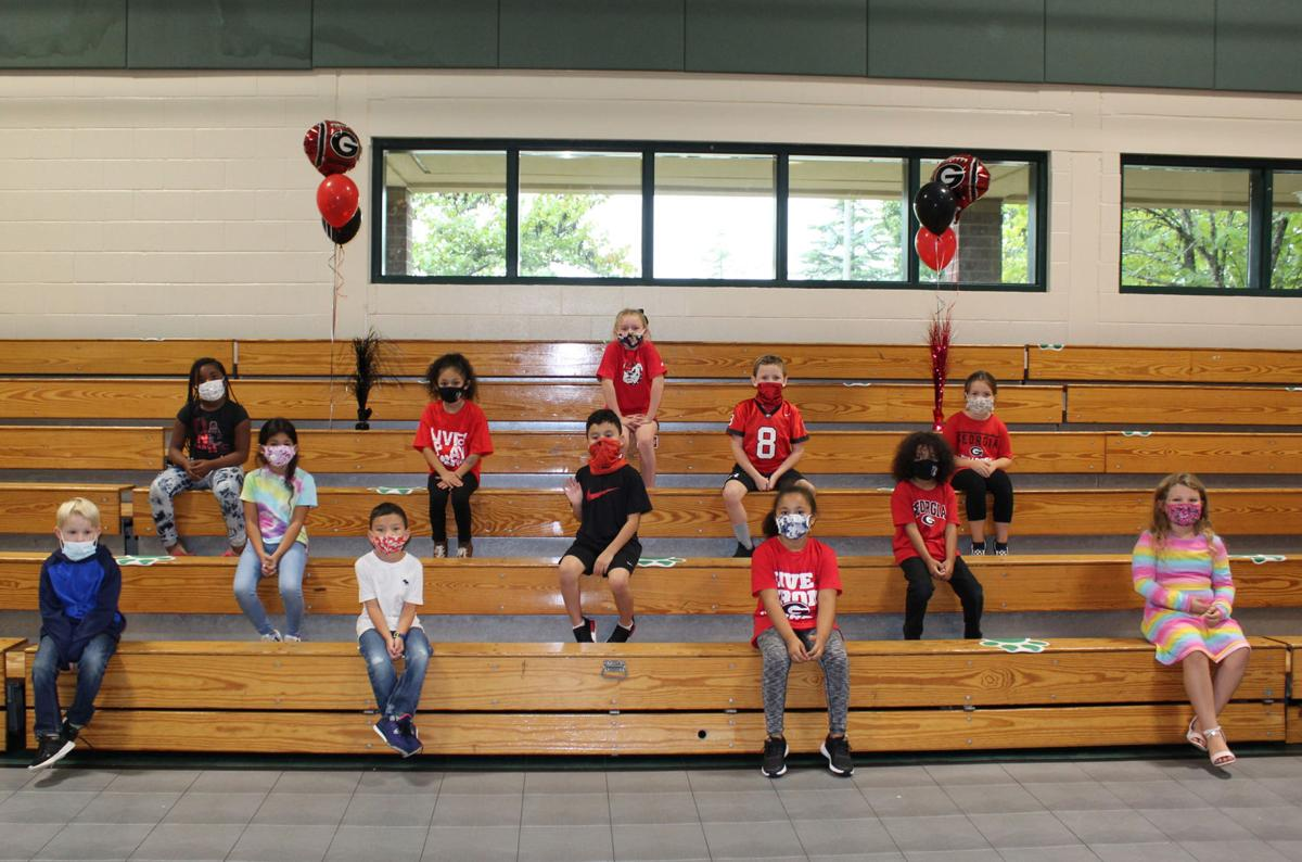 Hull-Sanford honors first graders