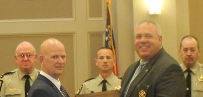 SHERIFF'S OFFICE RECOGNIZED