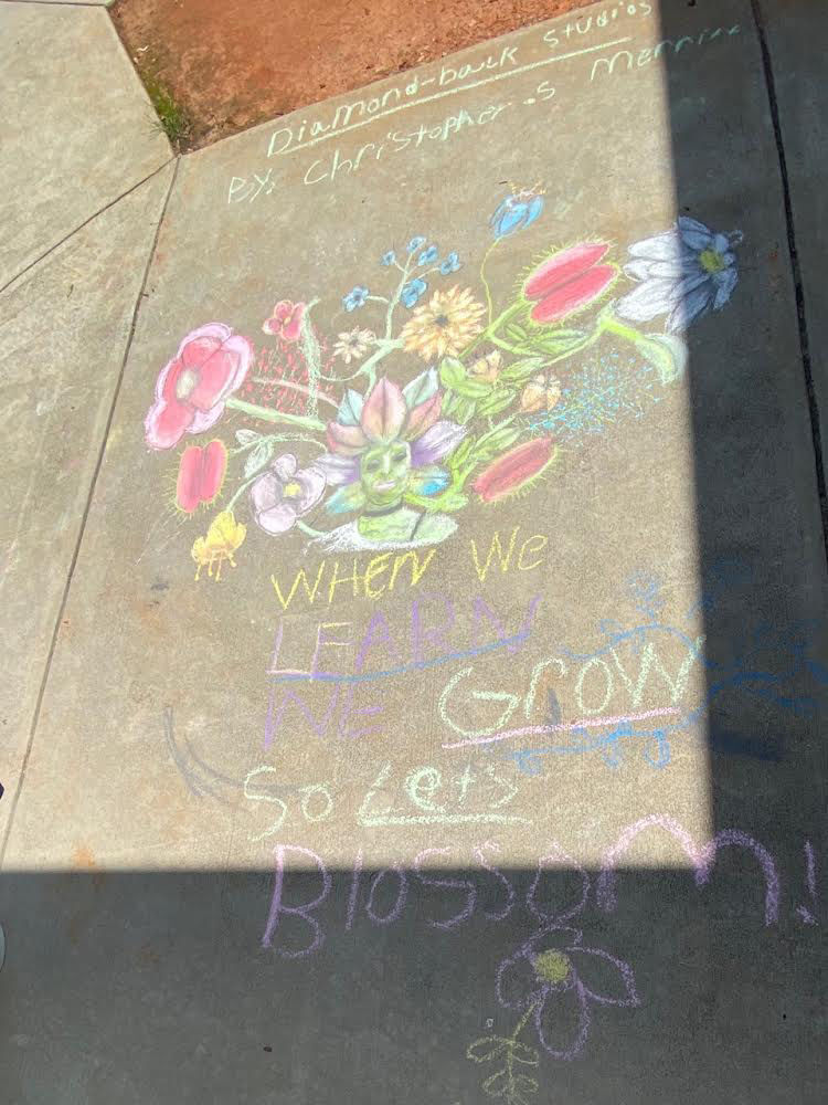 When we learn, we grow so let's blossom