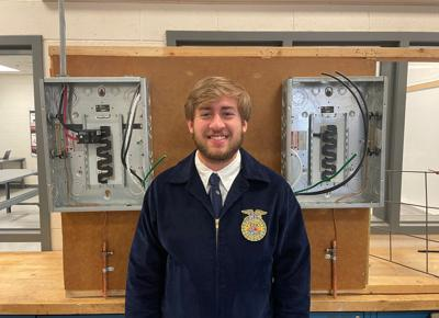 Stringer wins wiring contest