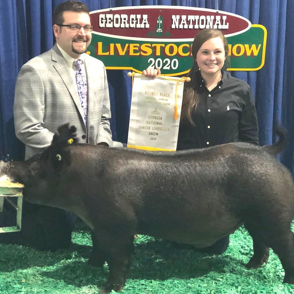 Page participates in national livestock show