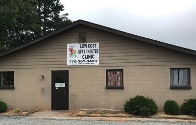Leftover Pets building