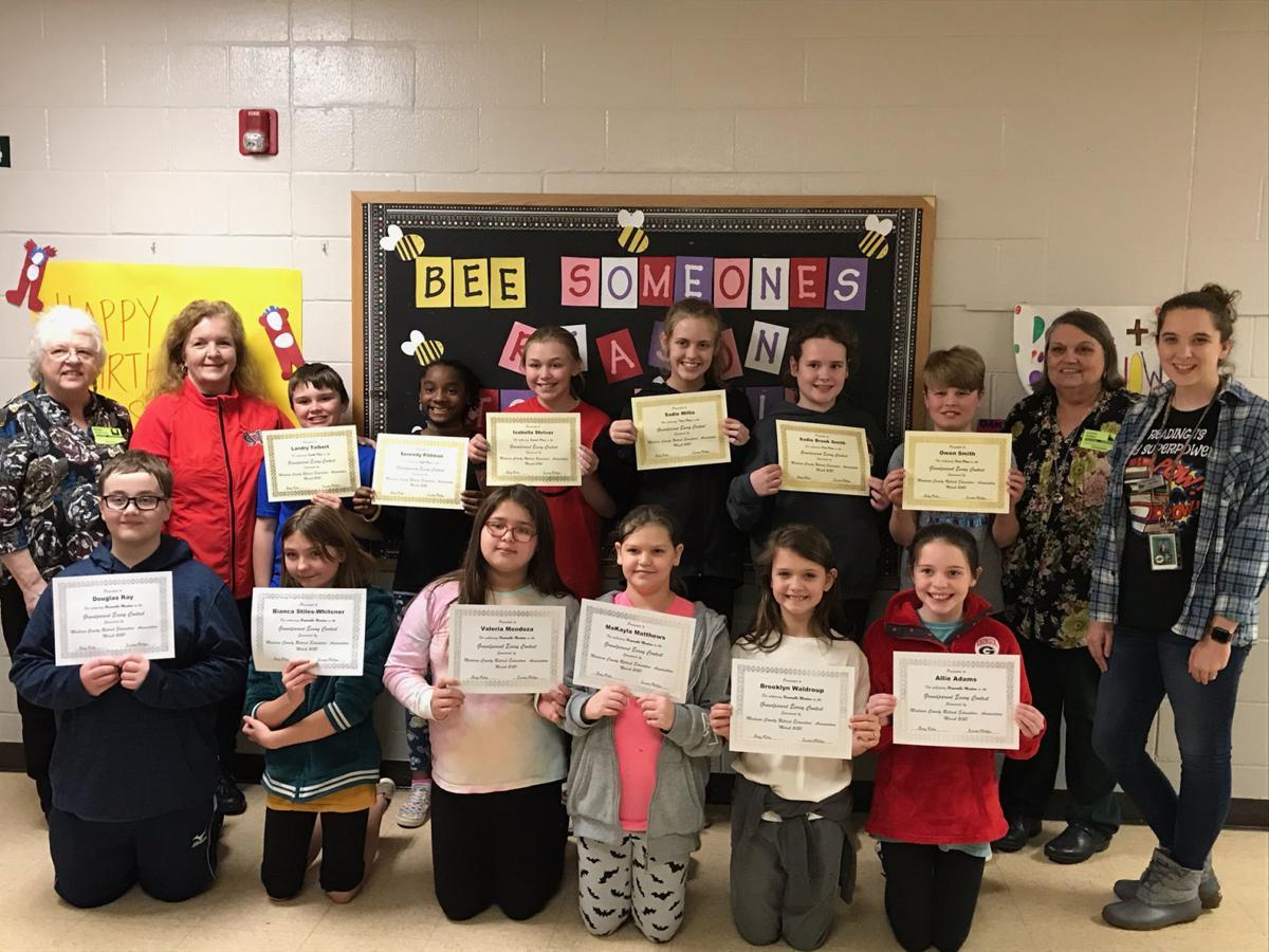 Ila Elementary School winners