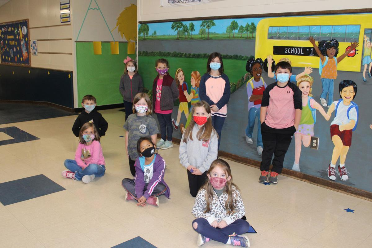 Comer 'Students of the Month' (First grade)