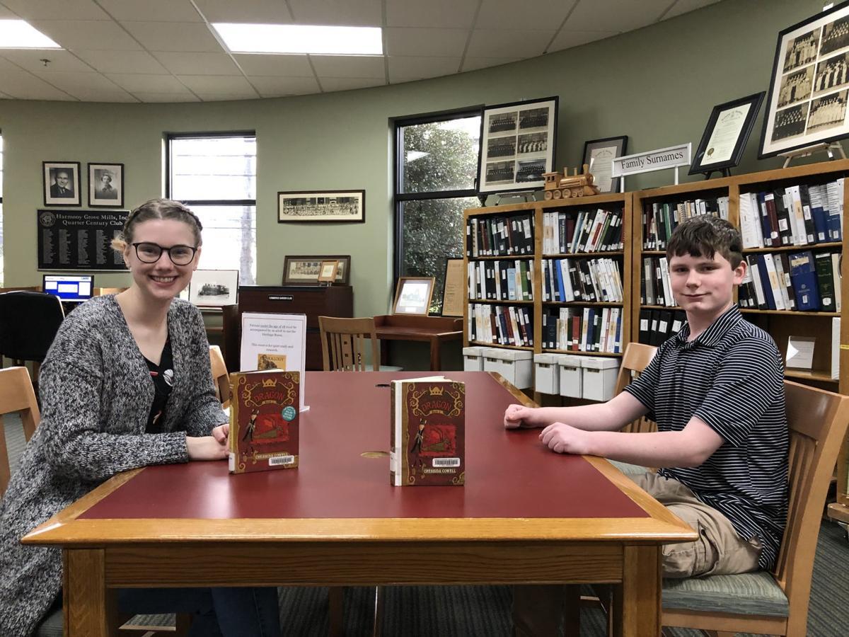 Tween Book Club held at Commerce library