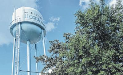 Hoschton water towers