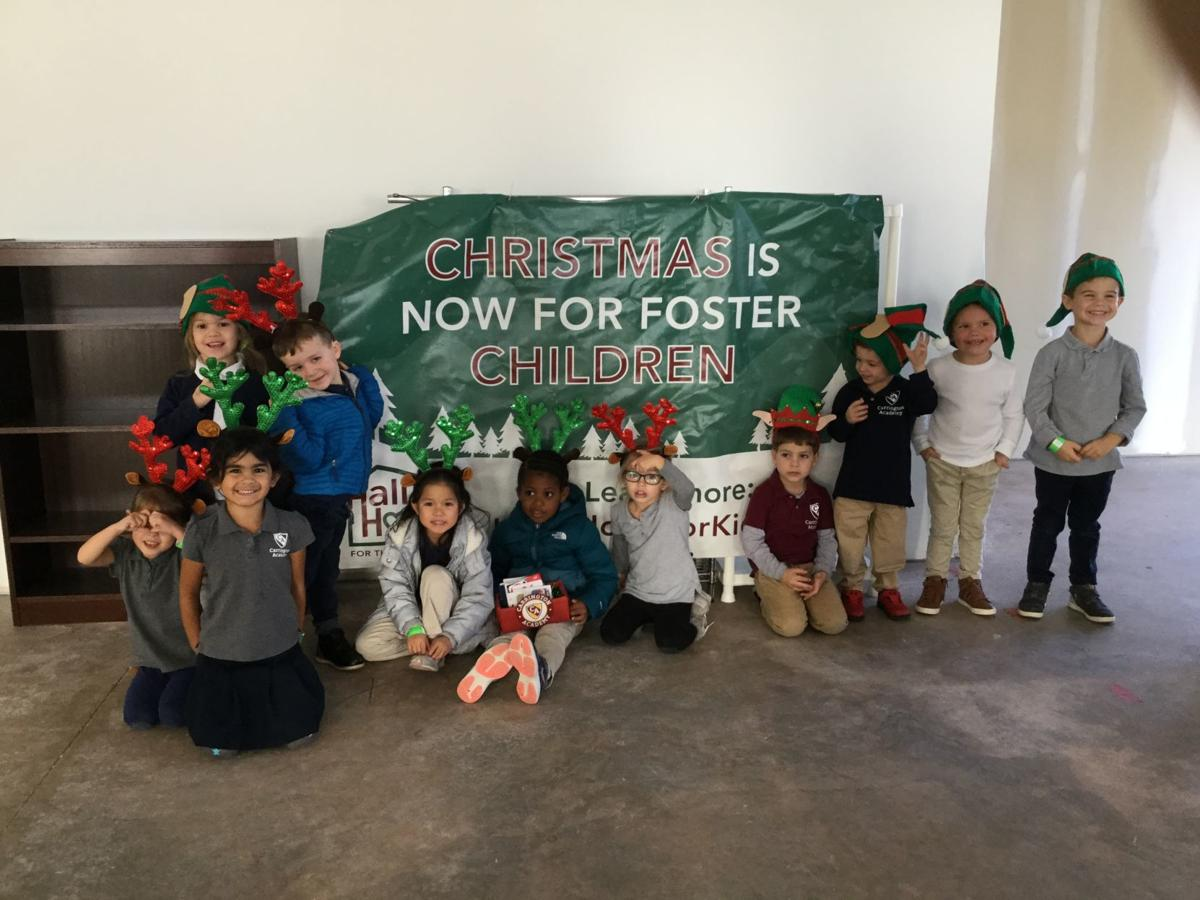 Pre-K students make donations for Christmas