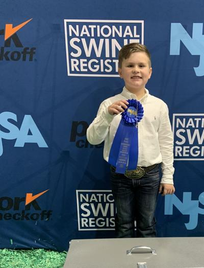 Page wins in showmanship