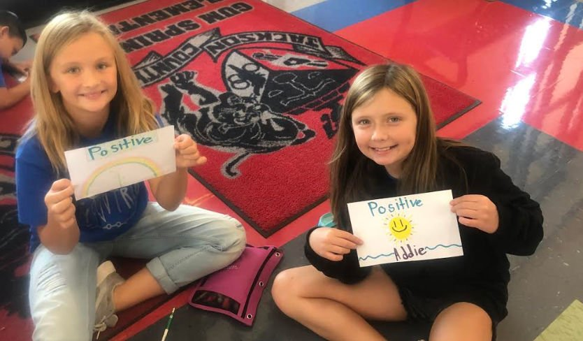 Students focus on positivity