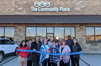 Ribbon cut at The Community Place