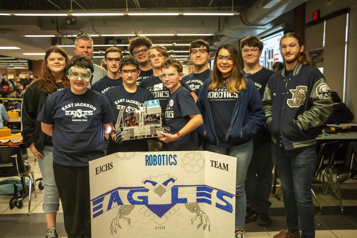 EJCHS robotics team competes in regional tournament