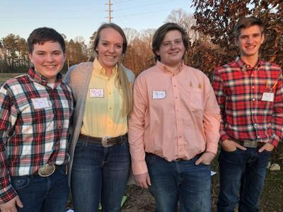 FFA members participate in poultry evaluation event