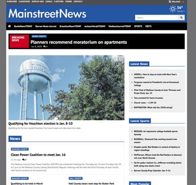 Mainstreetnews Website