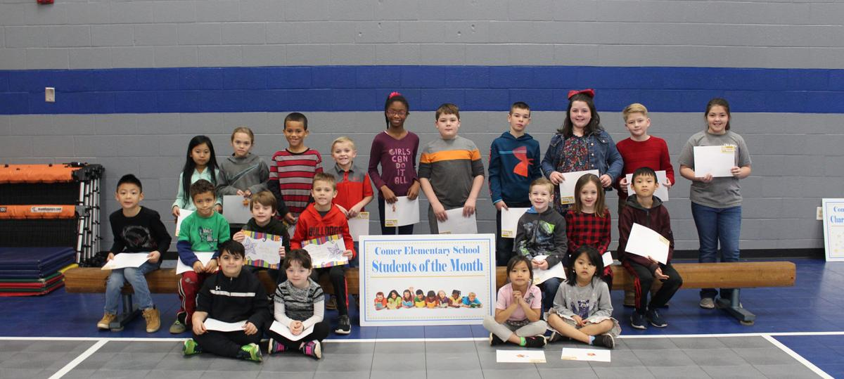 Comer Students of the Month