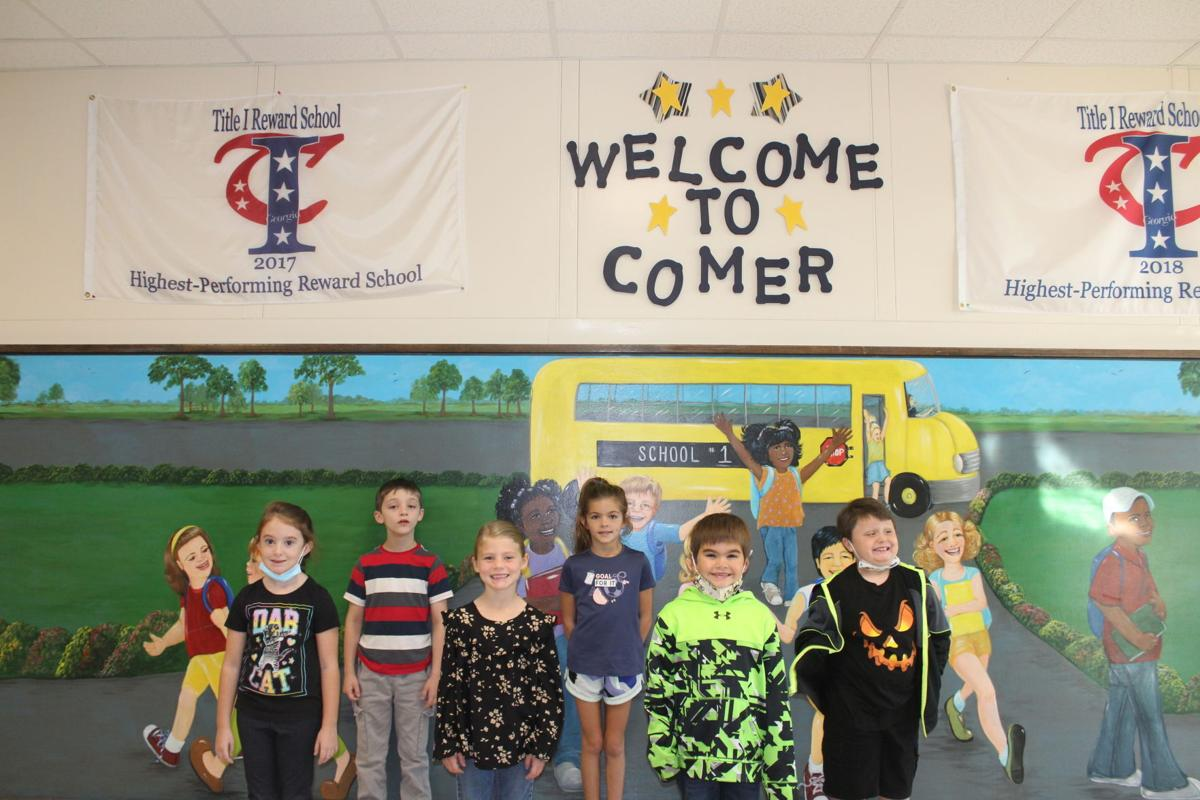 Second graders recognized