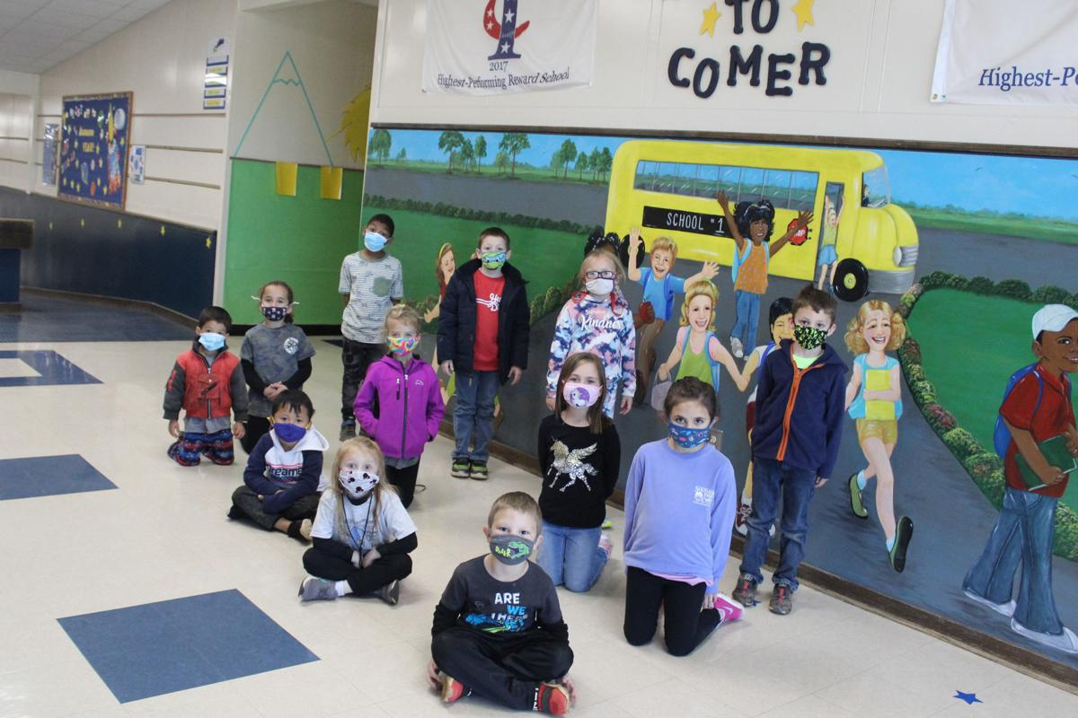 Comer 'Students of the Month' (Kindergarten)