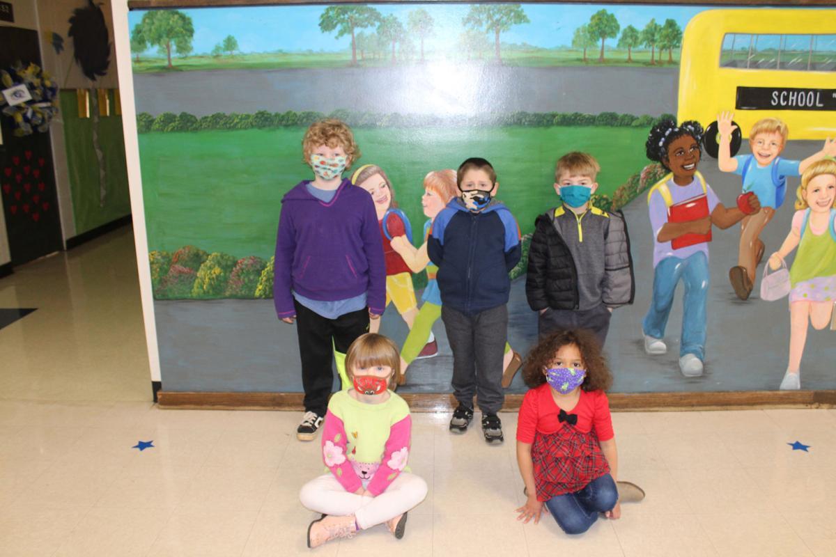 Comer Students of the Month (kindergarten)