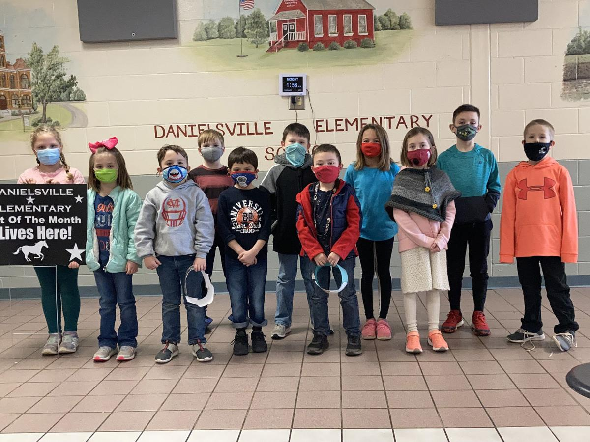 Danielsville 'Colts of the Month' (K-2)