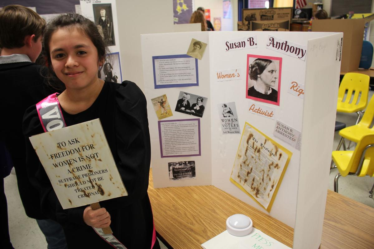 Learns about Susan B. Anthony