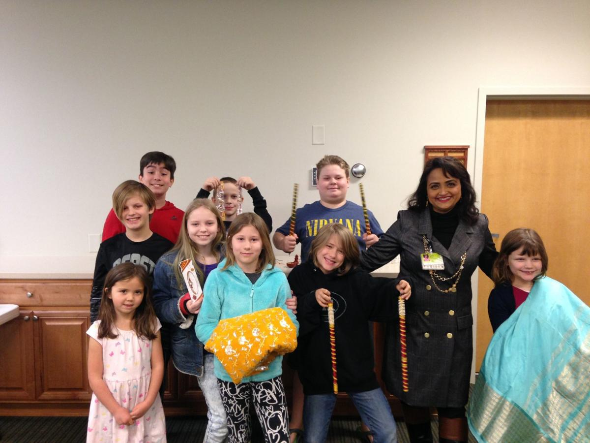 Homeschoolers program held at library