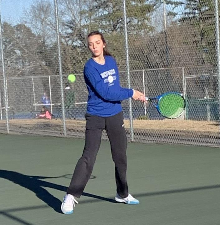 SMITH UNDEFEATED AS #1 SINGLES