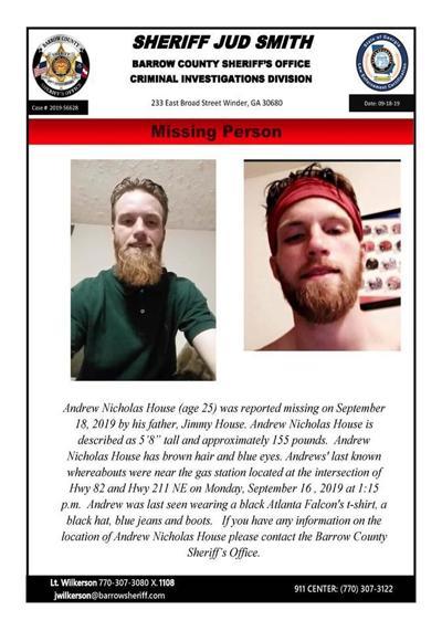 Man missing