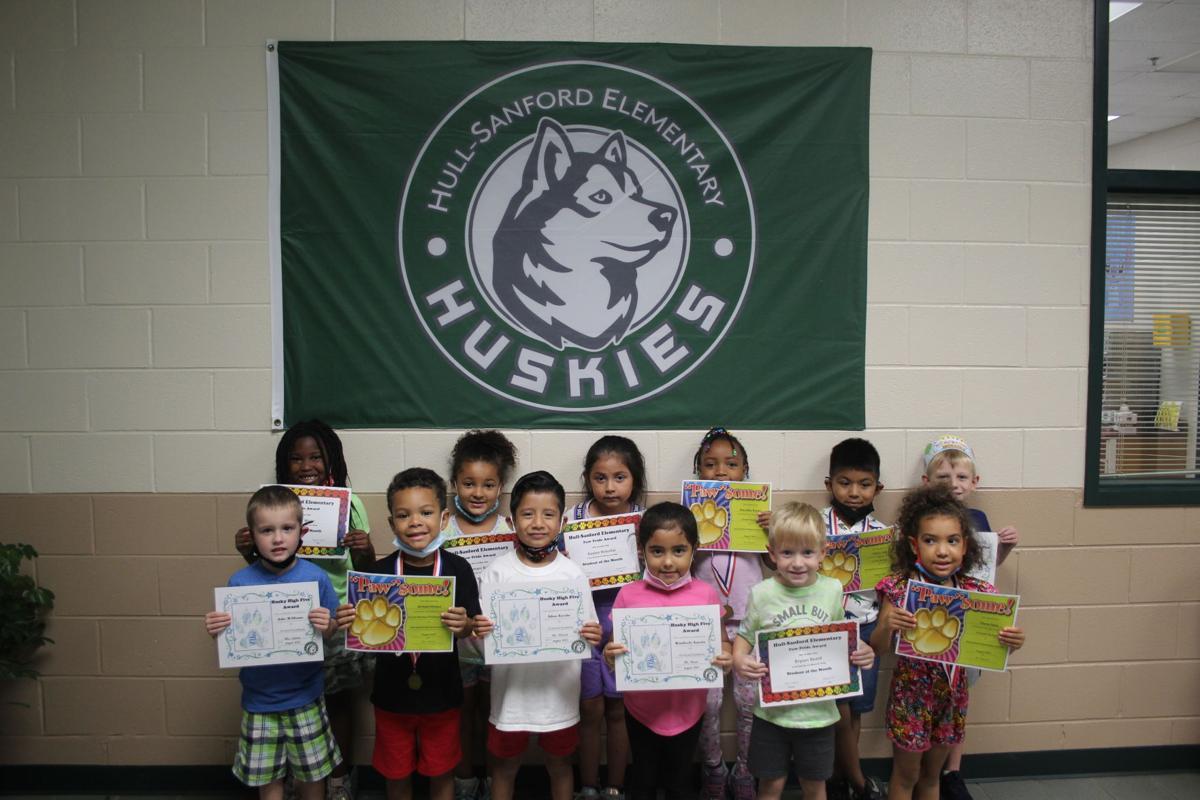 Hull-Sanford kindergartners recognized