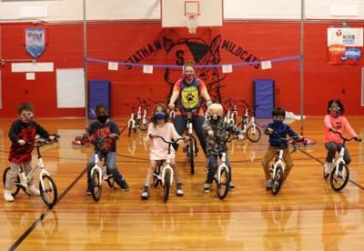 Statham Elementary School bikes