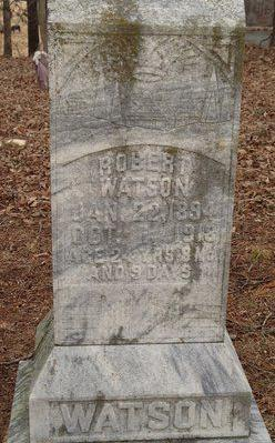 First local death in 1918