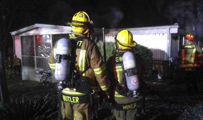 Fire damages Buford home