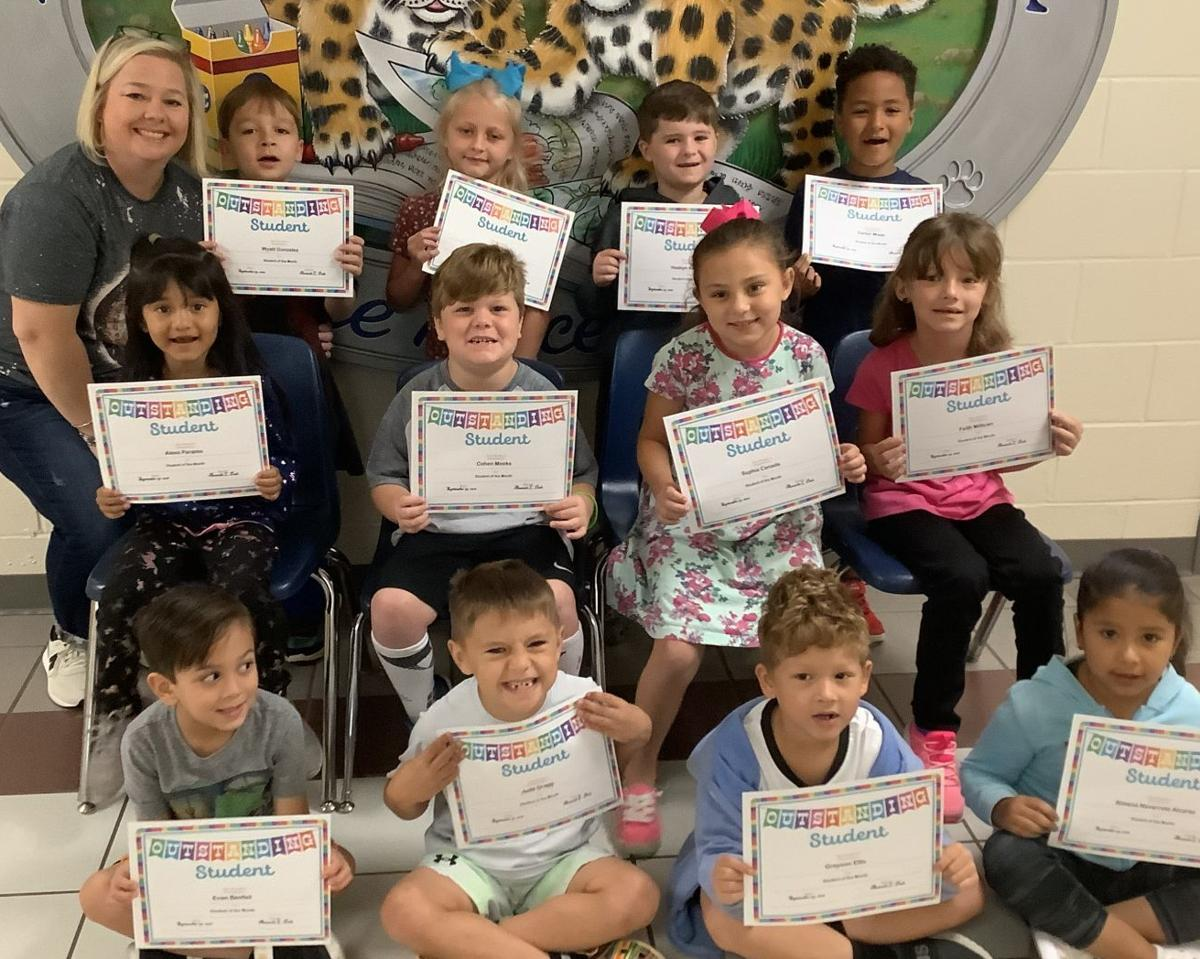 FIRST GRADERS HONORED