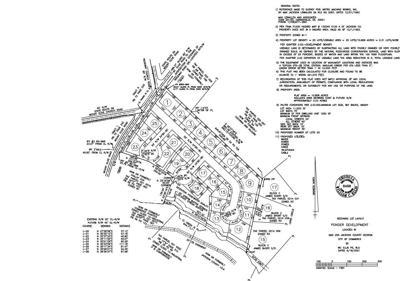 Housing development off Mt. Olive Rd.
