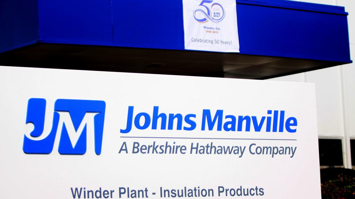 Johns Manville Winder plant celebrates 50 years of operation