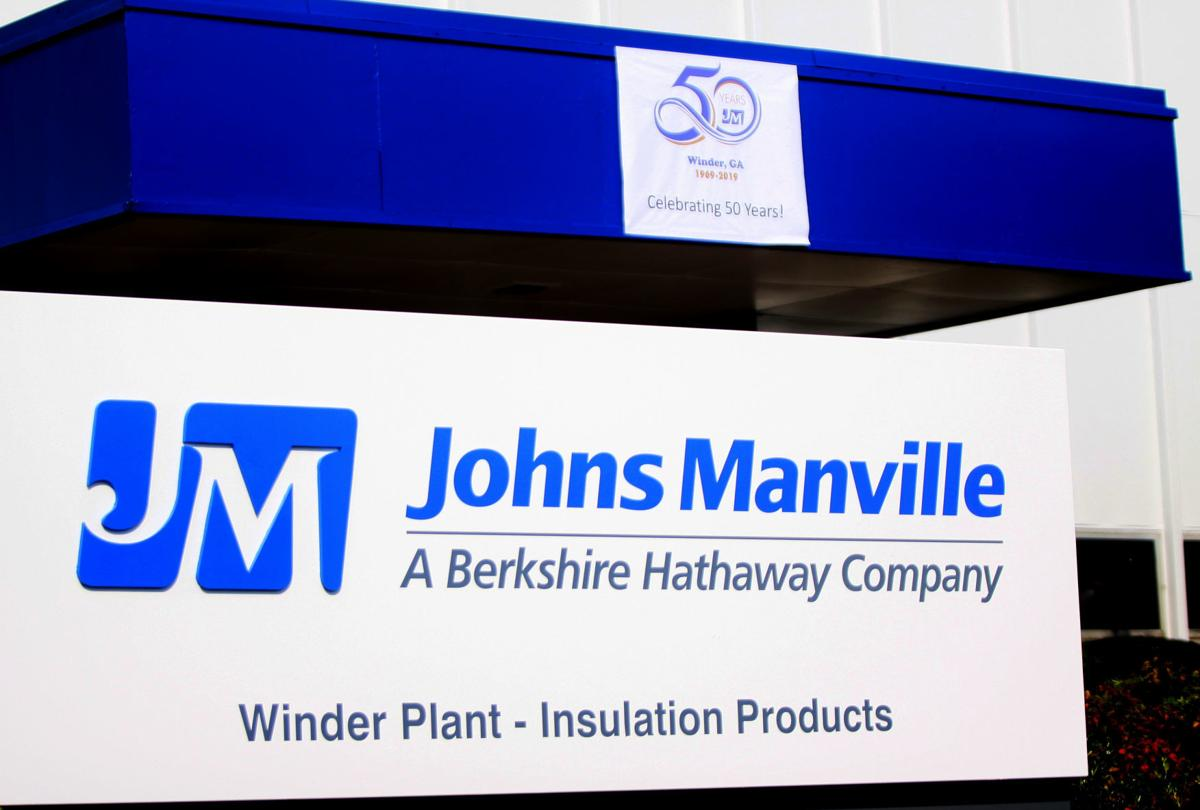 Johns Manville 50 years