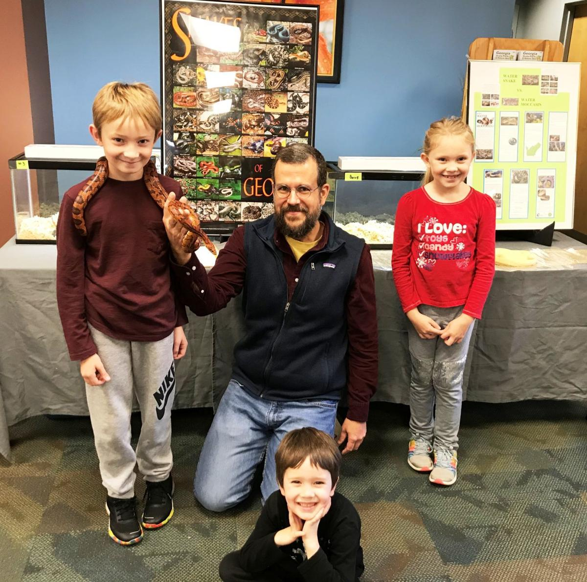 Reptiles at the library
