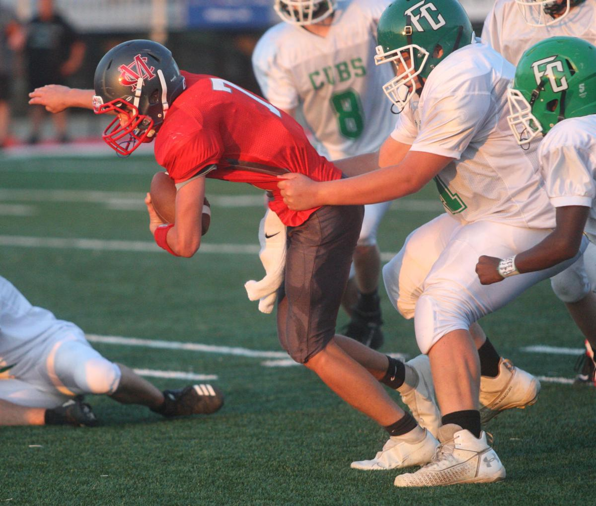 Fighting the tackle