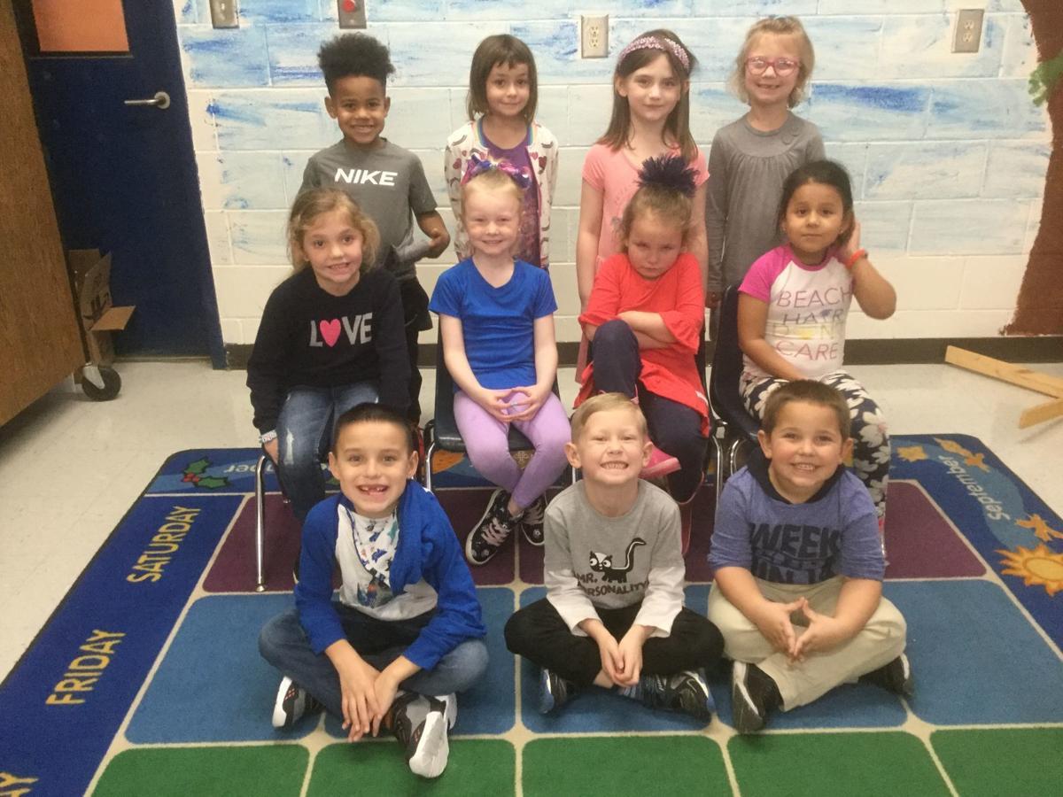 Kindergarten Little Leopards of the Month