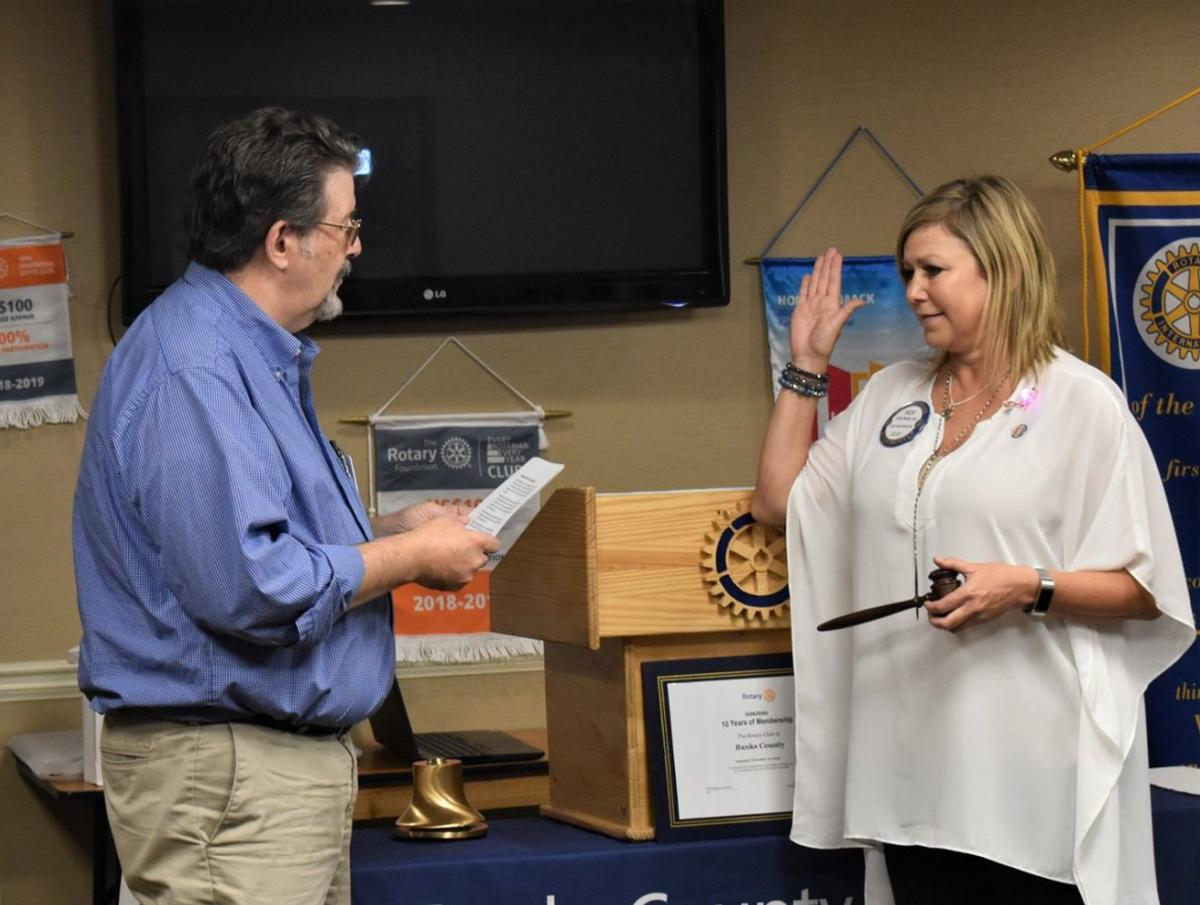 BOLING TO SERVE AS ROTARY PRESIDENT