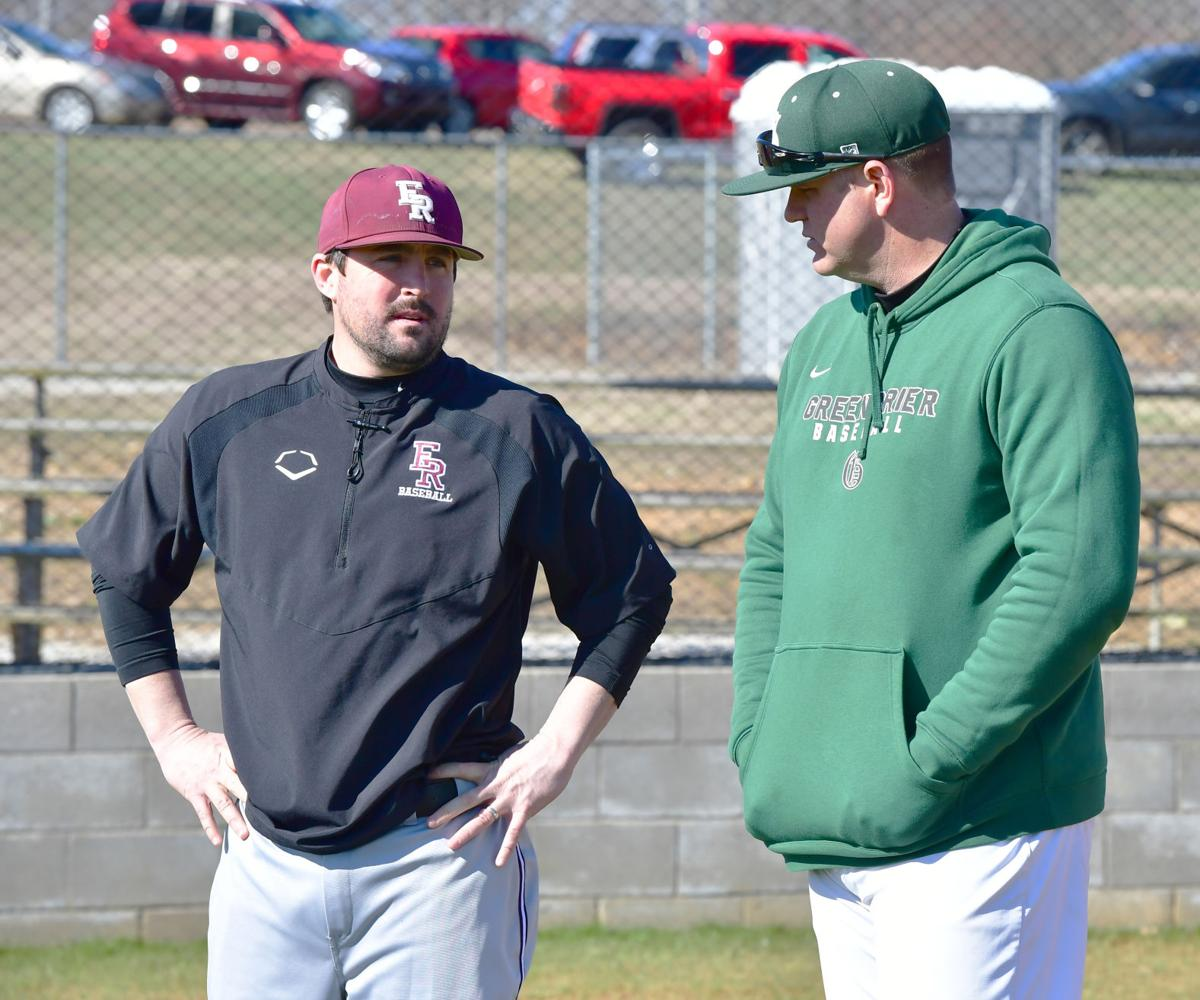 East Robertson and Greenbrier hold pre-season baseball scrimmage